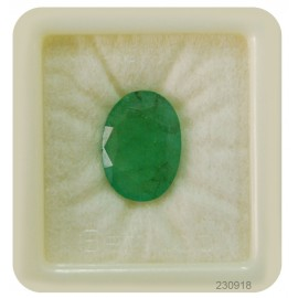 Natural Emerald Gemstone Fine 11+ 6.65ct