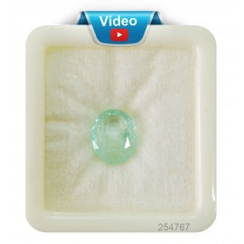 Astrological  Emerald Gemstone Sup-Pre 5+ 3.4ct