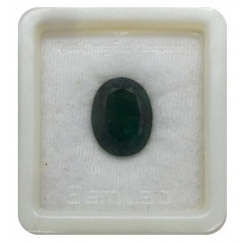Natural  Emerald Panna Stone Sup-Pre 11+ 6.6ct