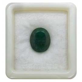 Natural Emerald Gemstone Fine 11+ 6.7ct