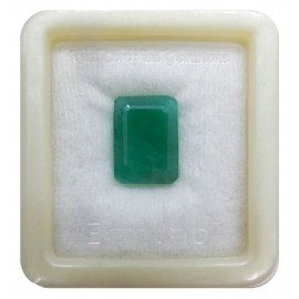 Natural Emerald Gemstone Fine 11+ 6.6ct